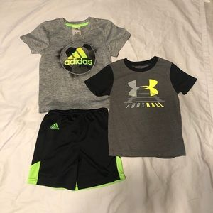 Adidas & Under Armour Lot/Bundle 3T